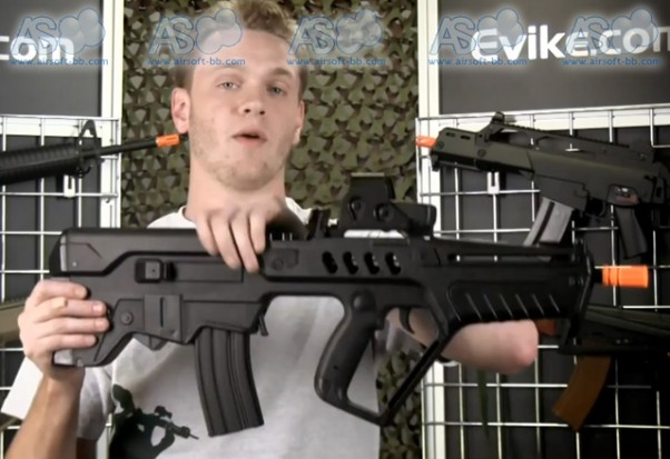S&T Tavor TAR-21 CQC Explorer y G&P Professional Training Rifle Evike-tar21-st-602x413